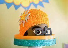 Yo Gabba Gabba Party Ideas!!  (bash cake!!)