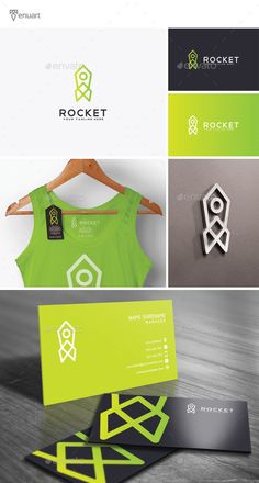 PSD Rocket Logo  Template • Only available here ➝ http://graphicriver.net/item/rocket-logo/12147481?ref=pxcr