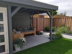 garden terraza Back Garden Design Garden Ideas Budget Backyard, Backyard Patio Designs, Small Backyard Landscaping, Patio House Ideas, Balcony Ideas, Back Gardens, Outdoor Gardens, Diy Gazebo, Pergola Kits