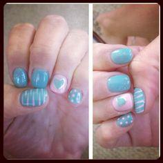 My favorite gel nails.