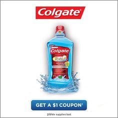 Get a 1 dollar coupon Colgate Total Mouthwash* *While supplies last. Lego Math, Sugar Scrub Diy, Crafts For Kids, Diy Crafts, Thing 1, Coupon Lady, Clever Quotes, Free Coupons, Saving Ideas