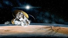 New Horizons, the size of a baby grand piano, is thought to have come within 12,500 kilometres of Pluto this morning. Tuesday, July 14/15. We've made it to Pluto by NASA's calculations, the last stop on a planetary tour of the solar system a half-century in the making. The U.S. is now the only nation to visit every single planet in the solar system. Pluto was # 9 in the lineup when New Horizons departed Cape Canaveral Florida, on Jan.19, 2006, but was demoted 7 mos. later to dwarf status.