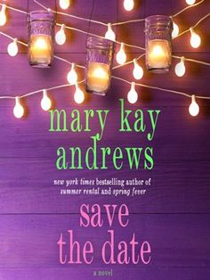 Save the Date by Mary Kay Andrews (adult fiction).  Read by Kathleen McInerney.   Cara, a Savannah florist, is about to score the wedding of a lifetime—one that will solidify her career as the go-to-girl for society nuptials. But when the bride goes missing and the wedding is in jeopardy, Cara must find the bride and figure out what she believes in. Maybe love really does exist outside of fairy tales after all.