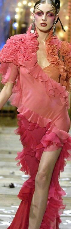 Carolyn Murphy, John Galliano F/W 1998 | My Style | Pinterest | John ...