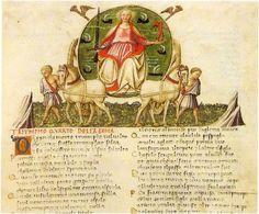 Triumph-petrarch-apollonio-4-fame - Petrarch's triumphs - Wikimedia CommonsAttributed to Apollonio di Giovanni. - Scanned from Virtù d'amore. Pittura nuziale nel Quattrocento fiorentino.