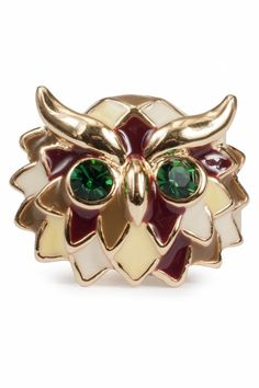 Wise Beyond My Colors Owl ring
