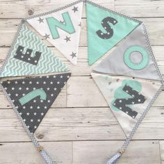 """31 Likes, 1 Comments - ⭐️ Twinkle Twinkle Babies ⭐️ (@twinkletwinklebabies) on Instagram: """"Handmade personalised bunting available in any colour combination from £3 per flag  #bunting…"""""""