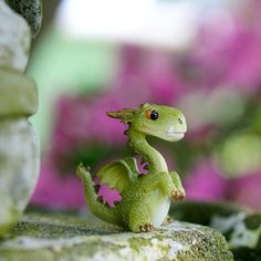 Mini Green Dragon Figurine