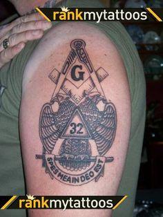 Mason Tattoo Design