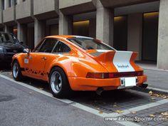 Porsche 911 spotted in Zurich, Switzerland on 10/03/2012