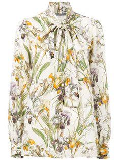 блузка с бантом 'Wild Iris'