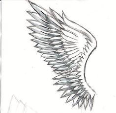 wing drawing by SnowblazeAdminD on Newgrounds
