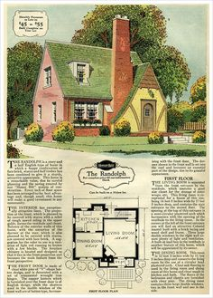 1929 Sears Brick Veneer - The Randolph