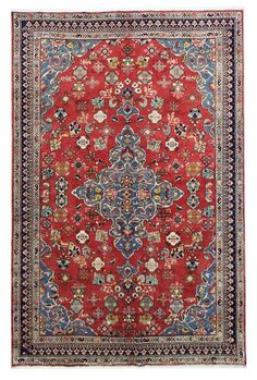 Mahabad  Perser Handgeknüpft orientalisch Teppich 294 x 212 cm carpet