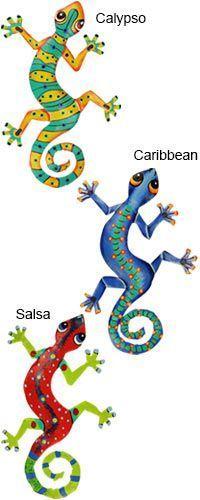 Haitian Folk Art Gecko Wall Art at The Hunger Site