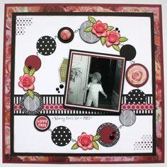 Creative Scrapbooker Magazine Close To My Heart- La Vie En Rose Scrapbooking, Scrapbook