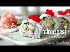 Schon mal #Sushi zu Hause gemacht? Wir zeigen wie man California Roll selbst macht. Das Rezept gibts bei Allrecipes Deutschland: http://de.allrecipes.com/rezept/12483/california-roll-sushi.aspx