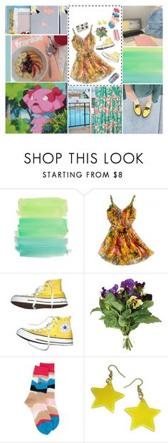 """""""WE CAN BLAME IT ALL ON HUMAN NATURE"""" by pop-punk-pizza-party-massacre ❤ liked on Polyvore featuring Zimmermann, Converse, OKA and Issey Miyake"""