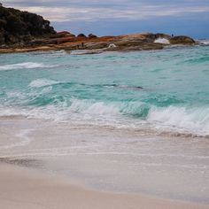 Beautiful colours at the Bay of Fires