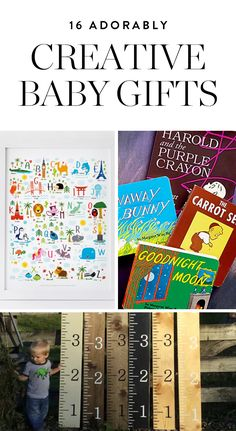 16 Adorably Creative Baby Gifts (That Nobody Else Will Give the Mom-to-Be) via @PureWow via @PureWow