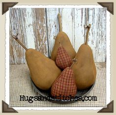 Free+Primitive+Craft+Patterns | 119 primitive pear pattern our primitive pears are nice and round and ...