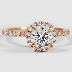 Waverly Diamond Engagement Ring - 14K Rose Gold