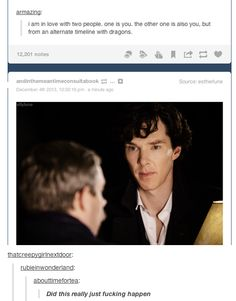 Is the Sherlock fandom competing with the Supernatural fandom to have a gif for everything? <<It would seem so