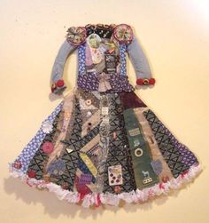 Recycled Art from Janet Cooper Designs - Woodland Dresses