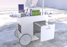 Trolley Bar projects | Photos, vidéos, logos, illustrations et branding sur Behance Grey Goose, Branding, Bar, Illustrations, Filing Cabinet, Behance, Storage, Furniture, Design