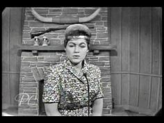 "The great singer Patsy Cline sings a song written by the equally great Willie Nelson, ""Crazy."""