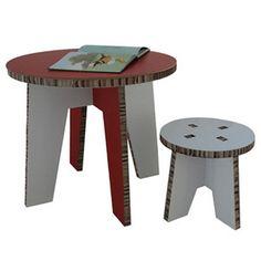 Another cardboard furniture idea.