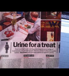 TimeOut London mention for WC Clapham