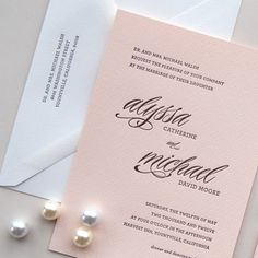 A really helpful breakdown of wedding stationary - From Save the Dates to Thank You Notes on Etsy Weddings