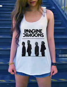 Imagine Dragons Shirt Alternative Rock Shirt by iNakedapparel, $14.99