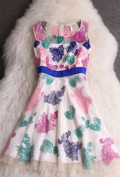 Beautiful spring dress