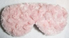 Pink Silk Luxury Girly Swirly Minky Sleep Eye Mask (super duper soft)