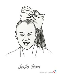 Beautiful Picture of Jojo Siwa Coloring Pages   Coloring ...