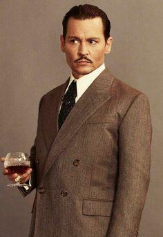 "only-johnny-depp: "" Murder on the Orient Express - Ratchett. """