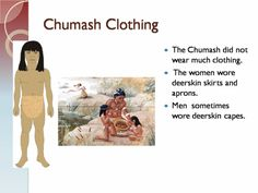 California Chumash Indians PowerPoint - Student Handout