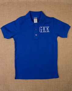 Monogrammed Polo