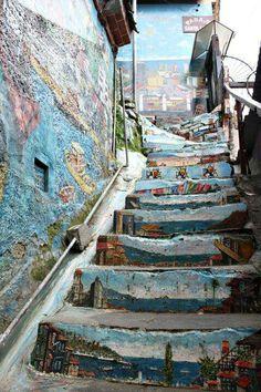 Diseño escaleras