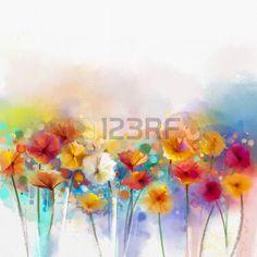 Die 12 Besten Bilder Von Wiesenblumen Meadow Flowers Watercolor