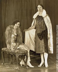 Ida and Louise Cook in their homemade opera cloaks on the eve of their first trip to New York in 1926.  2 women who could have been completely ordinary and yet were extraordinary.  As Mary Burchell, Ida wrote 130 books for Mills & Boon. And between 1937 and the outbreak of war, Ida and Louise were to become among the most effective British transporters of Jews out of Germany.