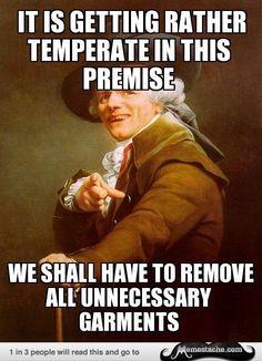 Joseph Ducreux Archaic Rap   Joseph Ducreux Meme