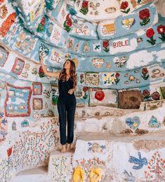 Complete Arizona and California Desert Road Trip Guide — The Wayfaress Places To Travel, Places To Go, Salvation Mountain, Bibel Journal, Fun Deserts, Arizona, Desert Road, Jesus Is Life, Christian Girls