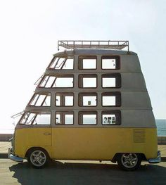 suped up vw van