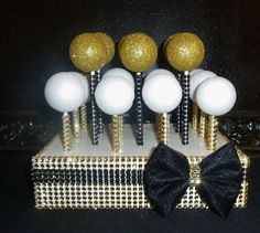 Image result for black gold candy buffet
