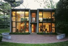 Fachada de Fundos - Esherick House