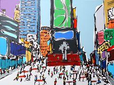 Times Square - Rachel Tighe