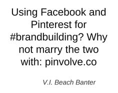 Twitted by @VIBeachBanter (www.pinvolve.co)